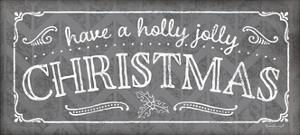 Holly Jolly Christmas Pewter by Jennifer Pugh