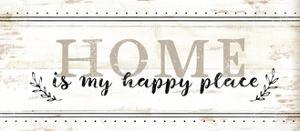 Home Is My Happy Place by Jennifer Pugh