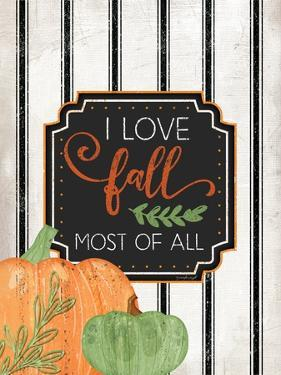 I Love Fall Most of All by Jennifer Pugh