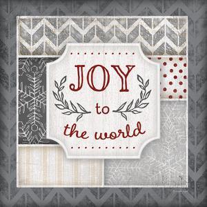 Joy to the World Pewter by Jennifer Pugh