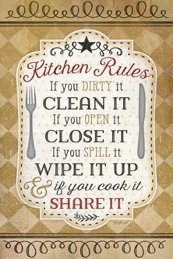 Kitchen Rules by Jennifer Pugh