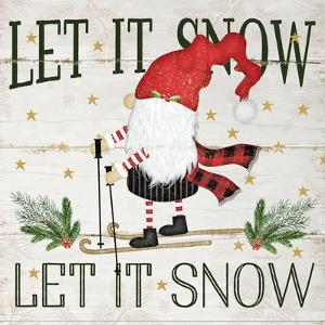 Let it Snow Gnome by Jennifer Pugh