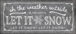 Let it Snow Pewter by Jennifer Pugh