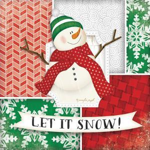 Let it Snow Snowman by Jennifer Pugh