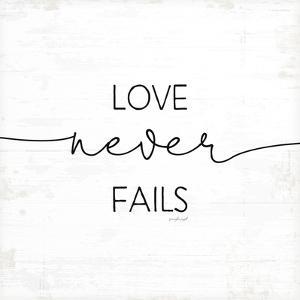 Love Never Fails by Jennifer Pugh