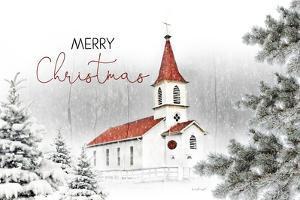 Merry Christmas Church by Jennifer Pugh