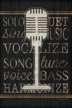 Music Microphone by Jennifer Pugh