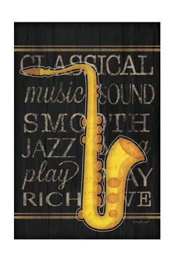 Music Saxophone by Jennifer Pugh