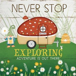 Never Stop Exploring by Jennifer Pugh