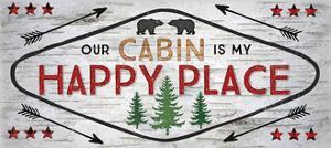 Our Cabin Is My Happy Place by Jennifer Pugh