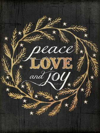 Peace Love and Joy by Jennifer Pugh