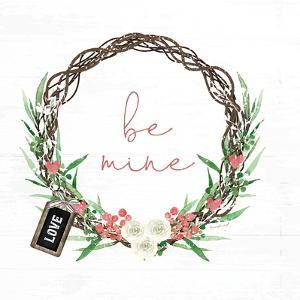 Pink Be Mine Wreath by Jennifer Pugh