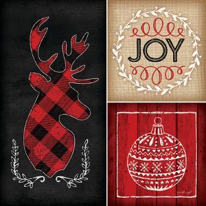Plaid Christmas I by Jennifer Pugh