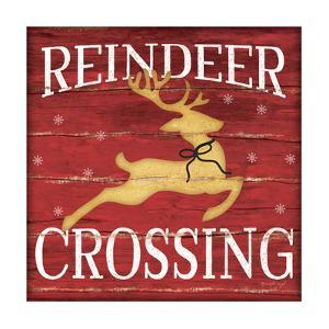 Reindeer Crossing by Jennifer Pugh