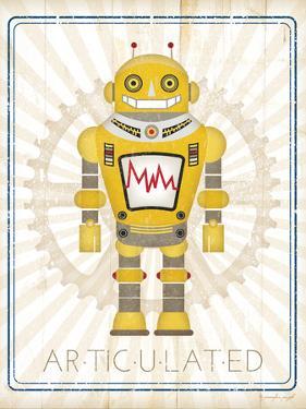 Retro Robot I by Jennifer Pugh