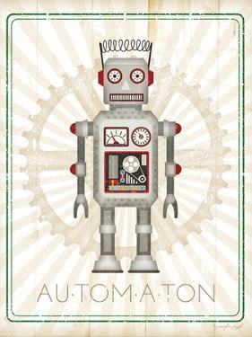 Retro Robot II by Jennifer Pugh