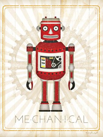 Retro Robot III by Jennifer Pugh