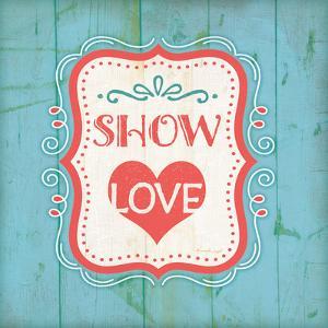 Show Love - Blue by Jennifer Pugh