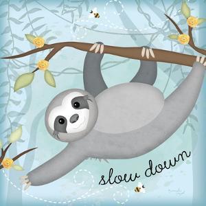 Slow Down Sloth by Jennifer Pugh