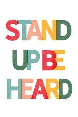 Stand Up Be Heard by Jennifer Pugh