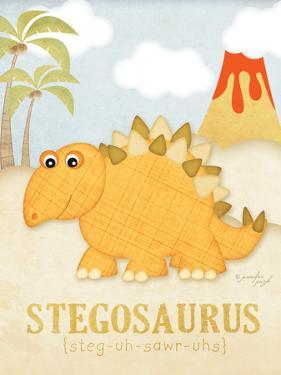 Stegosaurus by Jennifer Pugh