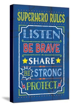 Superhero Rules by Jennifer Pugh