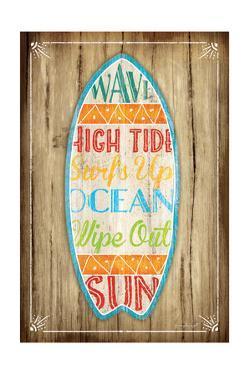 Surfboard by Jennifer Pugh