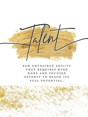 Talent by Jennifer Pugh