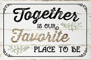 Together is Our Favorite by Jennifer Pugh