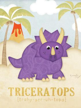 Triceratops by Jennifer Pugh