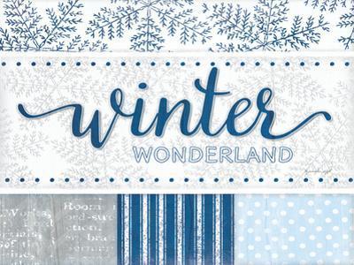 Winter Wonderland Silver Blue by Jennifer Pugh