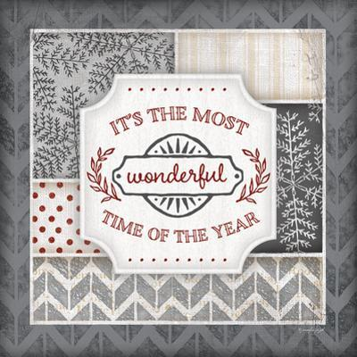 Wonderful Time of the Year Pewter by Jennifer Pugh