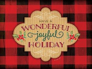 Wonderfully, Joyful Holiday by Jennifer Pugh