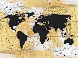 World Map II by Jennifer Pugh