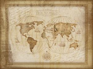 World Map by Jennifer Pugh