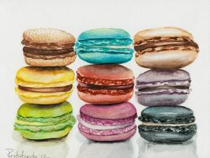 Nine Macaroons by Jennifer Redstreake Geary