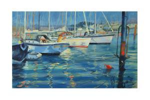 Isle of Wight - Yacht Reflections, 2010 by Jennifer Wright