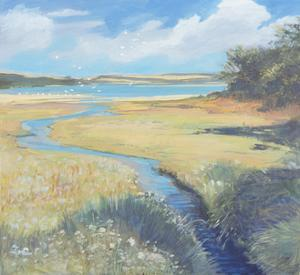 Kingsbridge Estuary, 2008 by Jennifer Wright