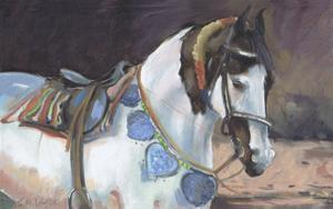Marwari Horse II by Jennifer Wright