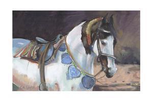 Marwari Horse II by Jennifer Wright