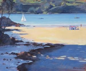 Millbay, Salcombe, 1998 by Jennifer Wright