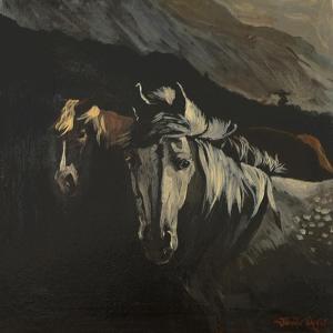 Mountain Ponies by Jennifer Wright