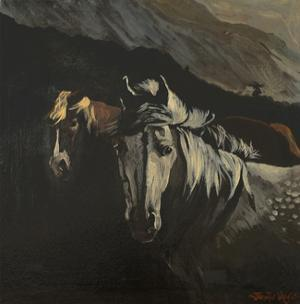 Mountain Ponies by Jennifer Wright