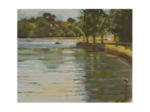 Salcombe Creek II by Jennifer Wright