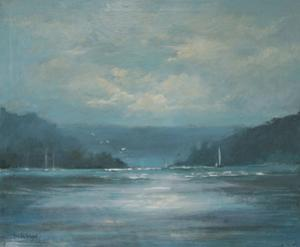 Salcombe Late Afternoon by Jennifer Wright