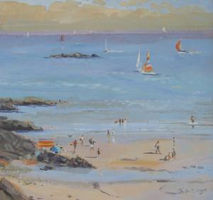 Salcombe Millbay Morning by Jennifer Wright