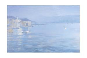 Salcombe - Misty Morning, 1998 by Jennifer Wright