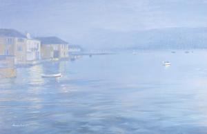 Salcombe - Misty Morning, 1998 by Jennifer Wright
