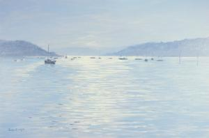 Salcombe Pool of Light, 1998 by Jennifer Wright