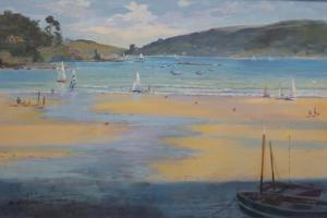 South Sands Beach, Salcombe, 2016 by Jennifer Wright